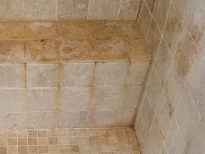 Hard Water Removal on Tile Raleigh