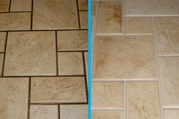 Grout Color Sealing | Contour Cleaning