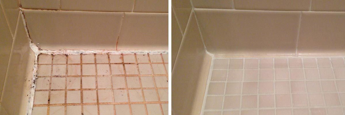 how to clean silicone from shower