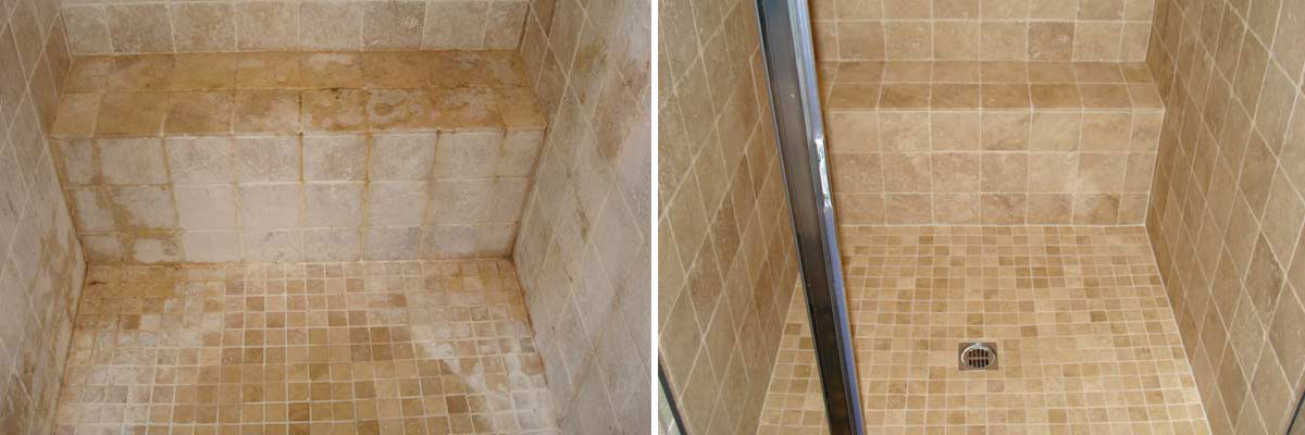 Professional Shower Cleaning & Restoration | Contour Cleaning