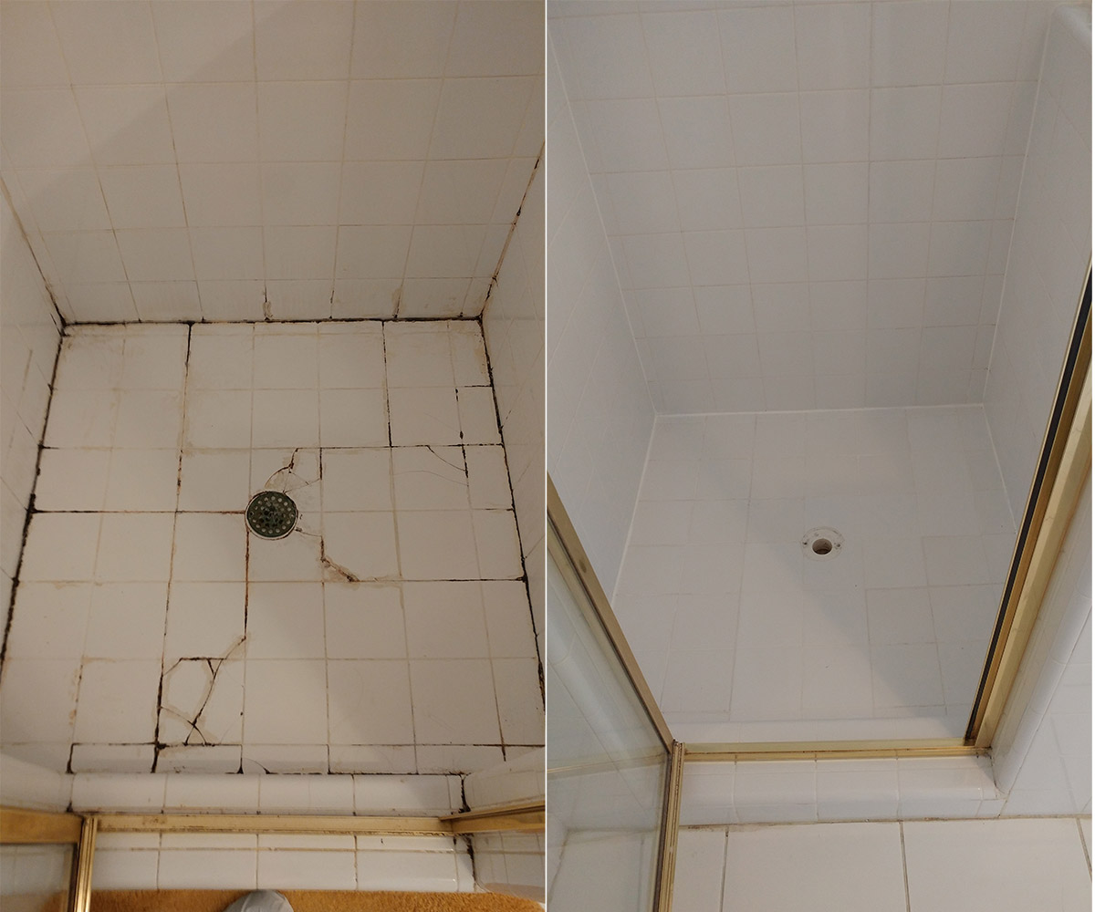 Re Grouting Bathroom Tiles: Professional Shower Cleaning & Restoration