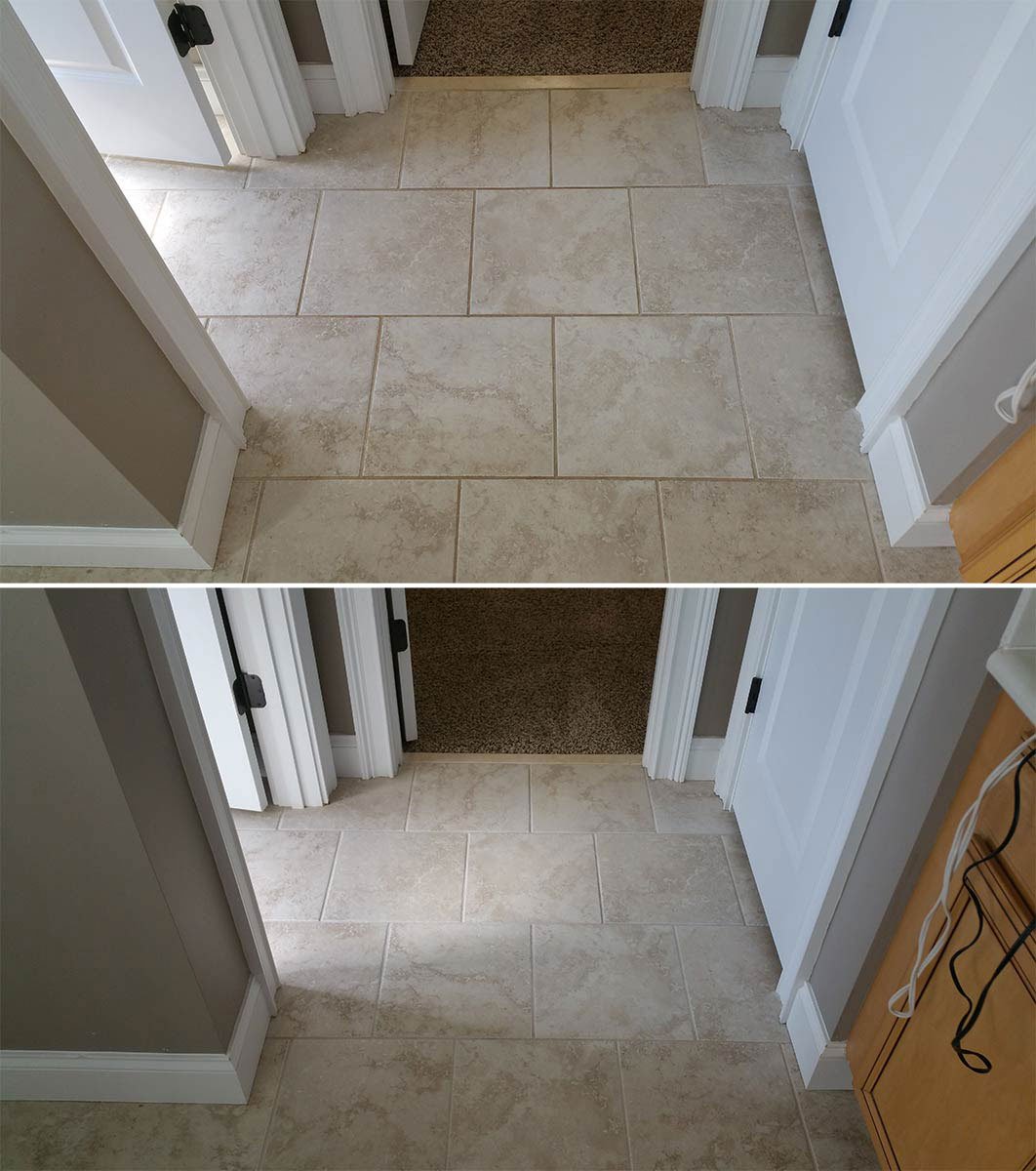 Tile Amp Grout Cleaning Contour Cleaning