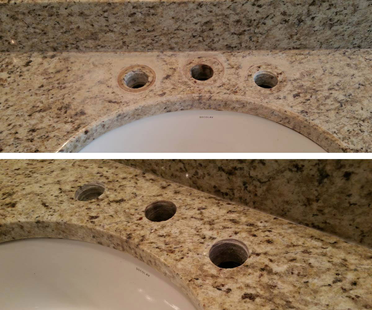 Granite Vanity Polishing