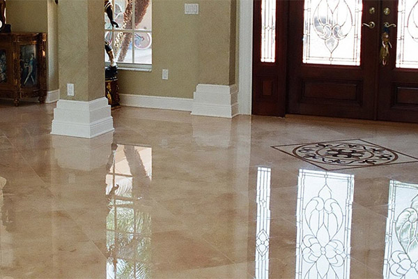 Travertine Polishing & Honing